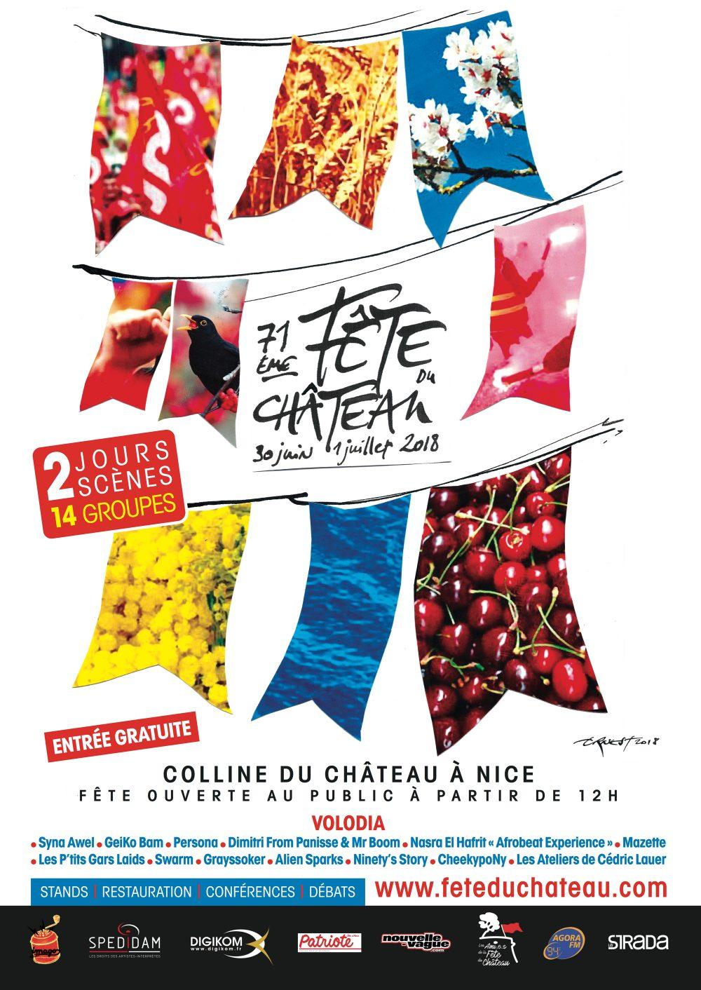 Fête du château à Nice @ Chateau de Nice | Nice | Provence-Alpes-Côte d'Azur | France