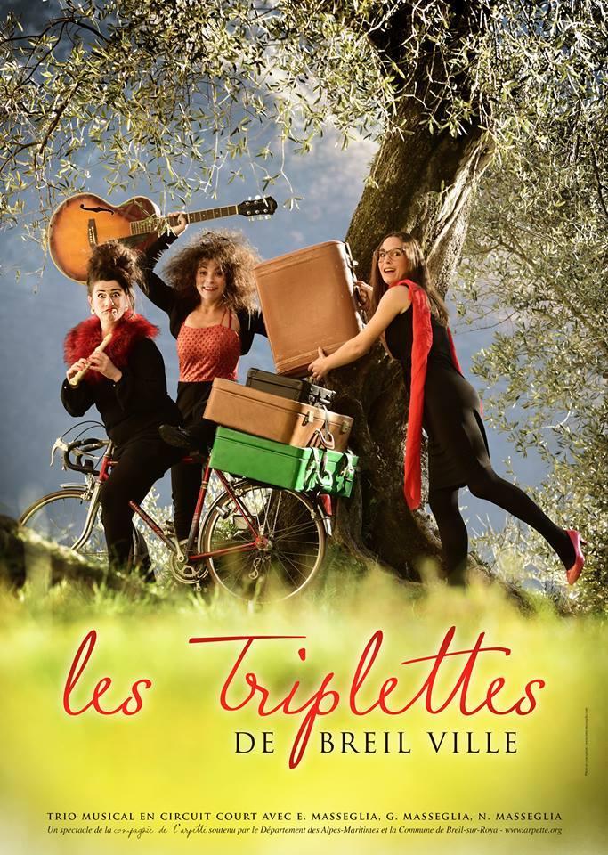 Les Triplettes de Breilville - spectacle @ Piène-Haute