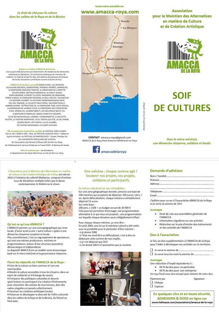 ASSEMBLÉE GÉNÉRALE DE L'AMACCA @ ACA d'BREIL